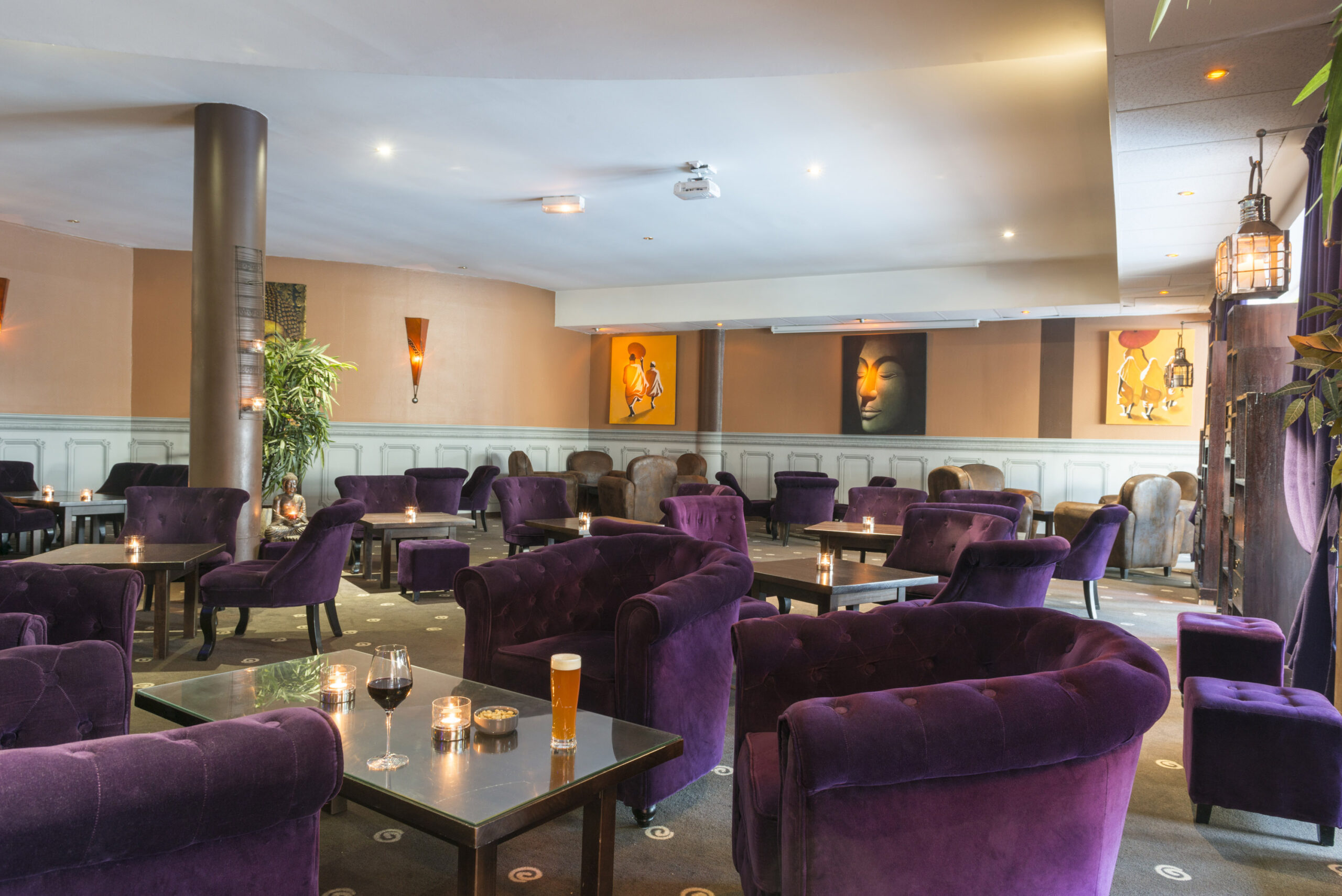 Vue du bar - Hotel Alteora Chasseneuil-du-Poitou