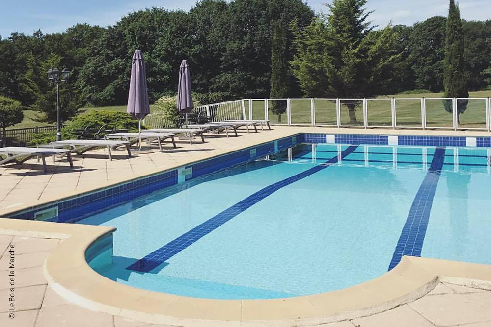 piscine du Bois de la Marche - Fontaine le Comte