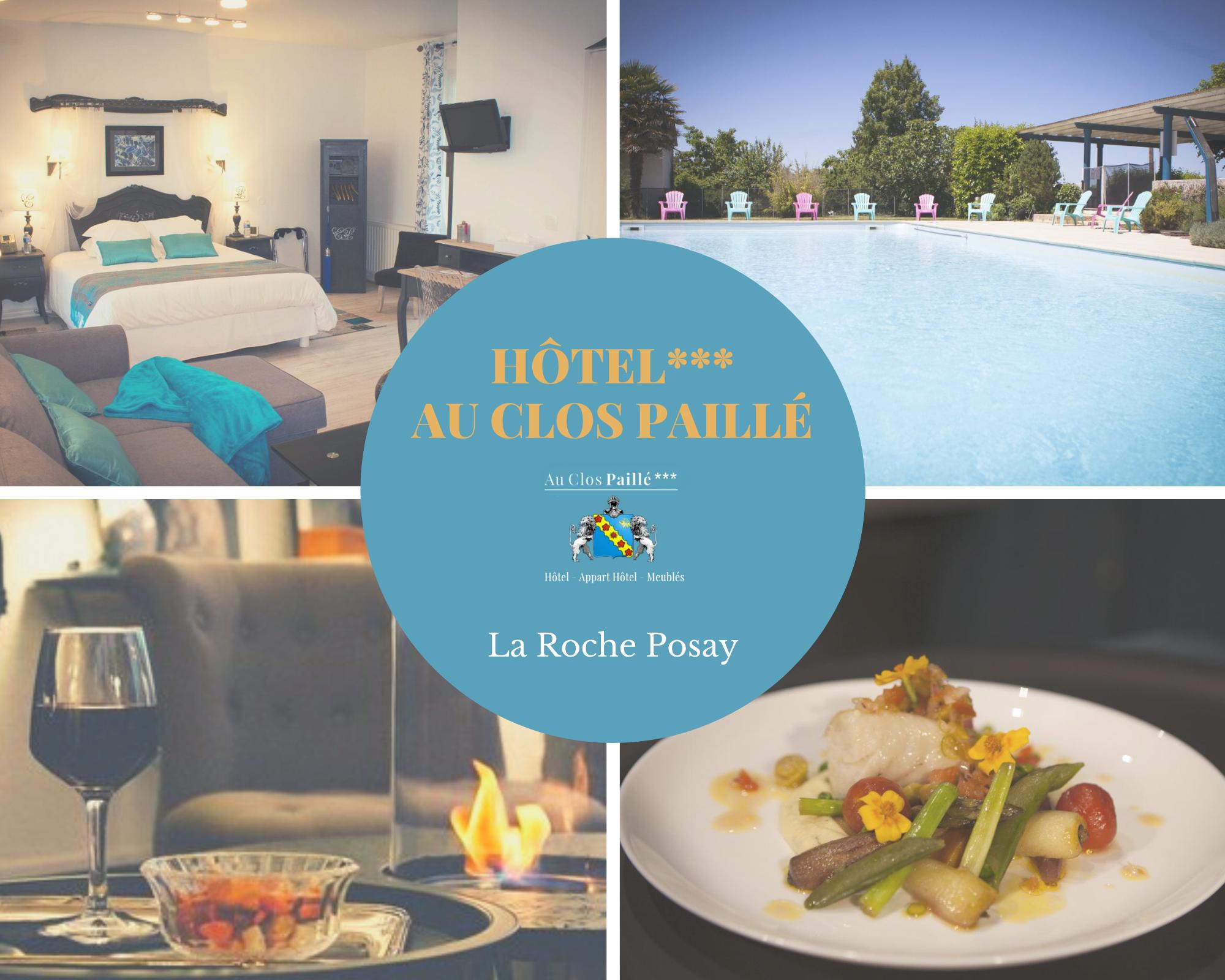 Hotel-La Roche Posay - Au Clos Paillé