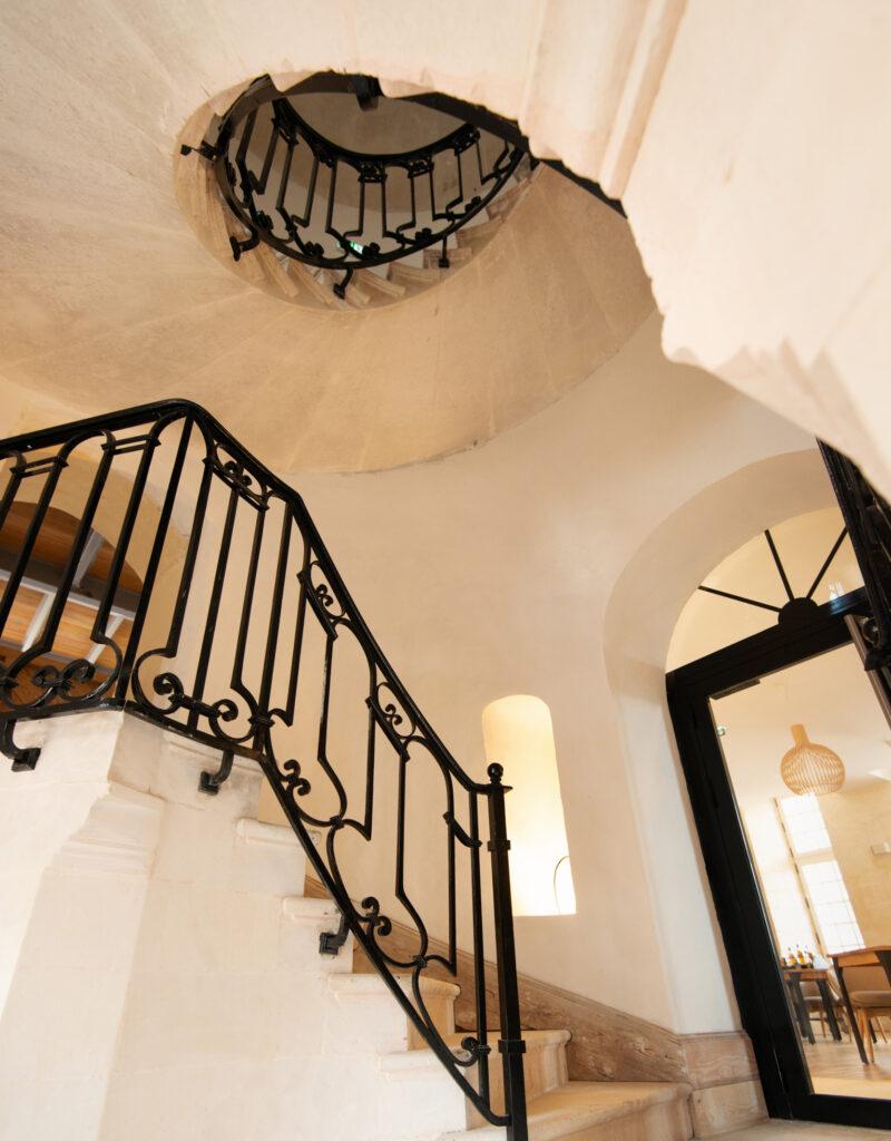 Escaliers Restaurant le Cerasus